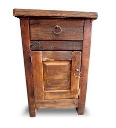 Arcadian Barnwood Nightstand | Rustic Furniture, Reclaimed Wood Furniture - FoxDen Decor
