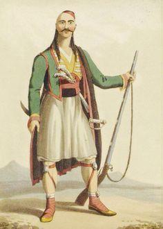 Albanian soldier in the Ottoman Empire