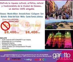Vía @garettotravel Gracias!!! Primer salida AGOTADA. Ultimos lugares para salir 14 de Abril.  #SemanaSanta #Oaxaca #ViajemosTodosPorMexico #Gaymexico #LGBT