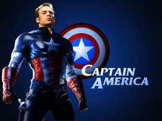 He's perfect as Captain America!