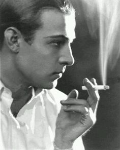 Rudolph Valentino, 1923.
