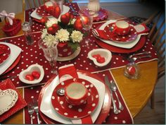 valentine's day table flower arrangements
