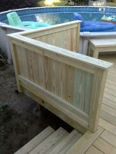 Best A Rail Height Solid Wall Offers The Homeowners Some 640 x 480