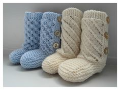 ThisBaby Booties with Buttons Free Knitting Pattern is a perfect baby shower gift. Make one now with the free pattern provided by the link below.