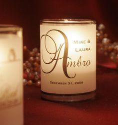 SALE - 100 Place Card / Name Card / Escort Card / Wedding Favor / Vellum Candle Votive wraps
