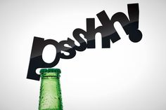 Bottle Opener - Psshh! (sound of the bottle) Cute!