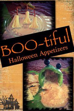 Boo-tiful Halloween Appetizers