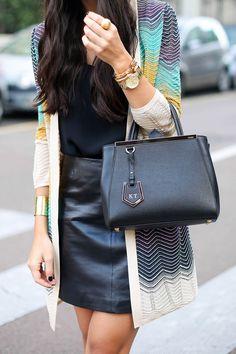Piazza Mondadori - M Missoni sweater c/o // Express tank M Missoni skirt c/o // Aquazzura heels Preston & Olivia hat c/o // Fendi bag // Gold cuff Thursday, September 25, 2014