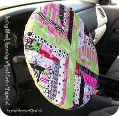 steering wheel cover (wonder if this is ment to stay on which I think may not be safe, or something you can slip over your wheel at night to keep it from being so cold on winter mornings)