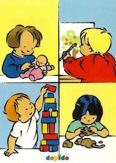 dagritmekaart DOPIDO Responsibility Chart, Preschool Kindergarten, Clipart, Back To School, Illustrations, Crafts For Kids, Classroom, Teaching, Cartoon