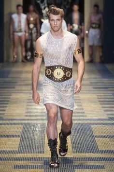 Versace Spring Summer 2013 men's    (Sandals)