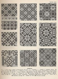 Estonian knitting patterns.  | followpics.co