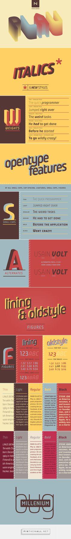 Plau - Desktop Font & WebFont - YouWorkForThem