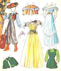 MARY-MARTIN-PAPER-DOLLS-ORIGINAL-UNCUT-BOOK-FROM-1942