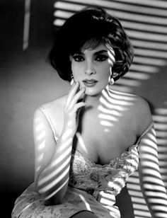 Gina Lollobrigida. She is always beautiful and a good photographer, nowadays...!