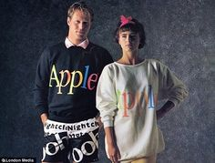 Apple's Clothing Line From The '80s