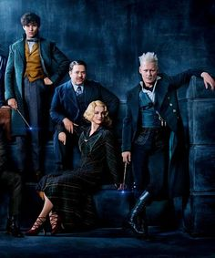 First official picture of Fantastic Beasts: The Crimes of Grindelwald