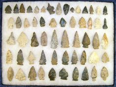 Great Canadian Aboriginal Stone Age Tools - 14,000 BC - 1600