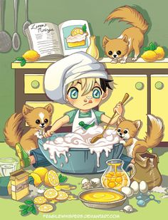Messy Kitchen by FragileWhispers on DeviantArt