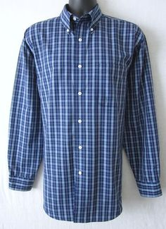 ROUNDTREE & YORKE .... Be sure to take a look at this very attractive Roundtree & Yorke men's casual/dress shirt, perfect for the office or casual wear!  We offer FREE shipping, and NO sales tax!  Visit J and S Menswear for more great deals on men's fashions!  $15.50
