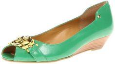 Nine West Women's Melikey Peep-Toe Pump,Green Leather,6.5 M US Nine West,http://www.amazon.com/dp/B0098GCJLA/ref=cm_sw_r_pi_dp_qRPBrb1NB0QW9HN5