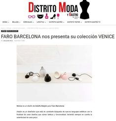 Desde FARO SHOP os presentamos la colección VENICE, cuatro luminarias de fabricación artesanal Light House, Beauty, Tights