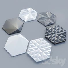 3 types of tiles Morpho tile