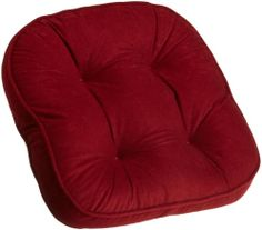 Arlee Baxter Non Slip Chair Pad, Red by Arlee. $12.99. 100-Percent polyester cover; 100-percent polyester fiber fill. Non slip latex bottom to keep securely in place. Super soft polyester fiber fill. Add comfort and brighten the look of any sitting area. Protects your furniture from scratches and other damages. Soft Faux Suede Chair Pad with Non Skid Back, Red