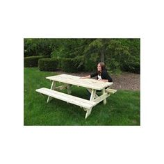 Budget Wooden Picnic Tables