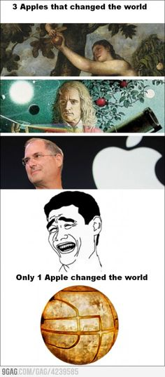 Only 1 apple changed the World