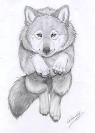 Výsledok vyhľadávania obrázkov pre dopyt mláda vlka kreslene