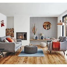This sophisticated mid-century scheme is easy to live with, characterful and packed with style.