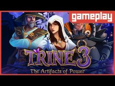 [GAMEPLAY] Trine 3: The Artifacts of Power - Conhecendo o Game! Os três ...