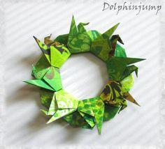 Origami Maniacs: Origami Crane Mandala