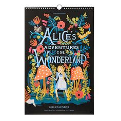 Alice in Wonderland Calendar - 2016 | Rifle Paper Co.