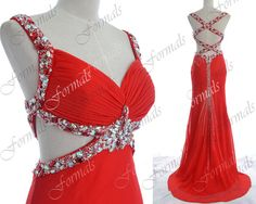 Red Prom Dresses Sexy Formal Dresses Straps with by Formals
