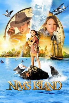 Nim's Island (2008) | http://www.getgrandmovies.top/movies/19784-nim's-island | A young girl inhabits an isolated island with her scientist father and communicates with a reclusive author of the novel she's reading.