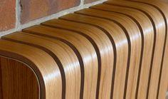 Cool bespoke designer wooden radiator cover