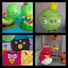 Angry bird Party with costumes