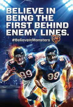 Chicago Bears--The one on the left is Shea!