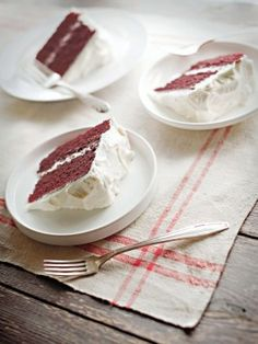 Red Velvet Cake : Recipes : Cooking Channel
