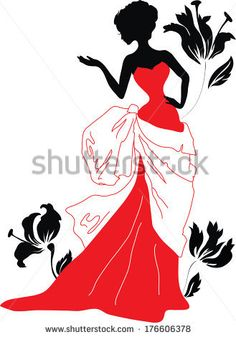 Siluetas De Mujer Fotos, imágenes y retratos en stock   Shutterstock