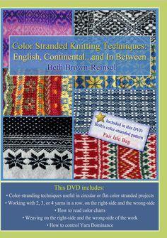 Color Stranded Knitting Techniques DVD door BethKnitsandWeaves