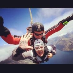Just found myself on @Nzone Skydive's pinterest page... how cool is that?!
