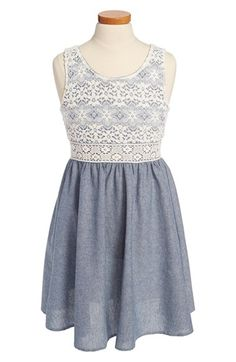 Your little girl will look adorable in this number