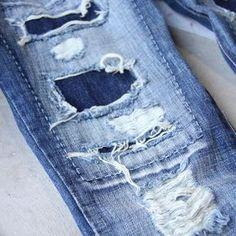 Stitch & Patch Boyfriend Jeans