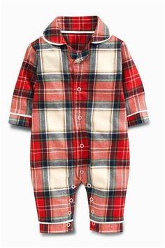 Buy Red Tartan Pyjamas (0mths-2yrs) from the Next UK online shop