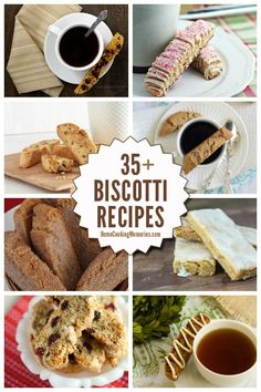 35+ Biscotti Recipes - a recipe collection of some of the best biscotti (Italian cookie) recipes! Lots of delicious flavors...some you might not expect. Which one will you make first?