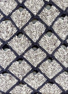 Patchwork | by NeedleB Designer Knitting Patterns, Crochet Stitches Patterns, Knitting Designs, Stitch Patterns, Knitting Charts, Lace Knitting, Knitting Stitches, Knit Crochet, Knitting Accessories