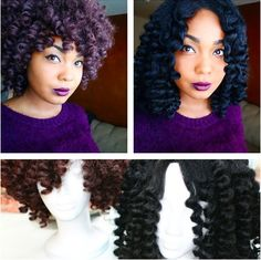 How to Make a Crochet Wig – Method #3 http://www.shorthaircutsforblackwomen.com/how-to-make-a-crochet-wig/